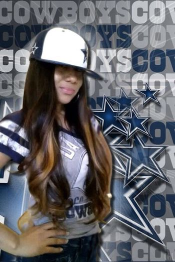 Go Boys! ?? thanks for the awesome edit. @overcast Dallas Cowboys Winter Smile