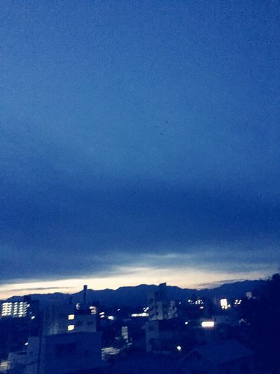 Sky_collection 夜明け前