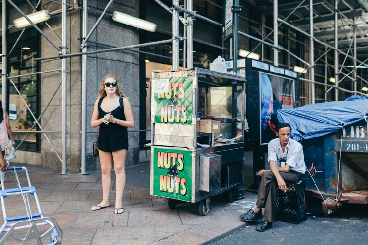 Full Length Standing Adults Only Adult Mature Adult Two People Business Finance And Industry People Working Real People Men Indoors  Day Only Men Vending Machine Young Adult The Street Photographer - 2017 EyeEm Awards EyeEmNewHere EyeEmNewHere
