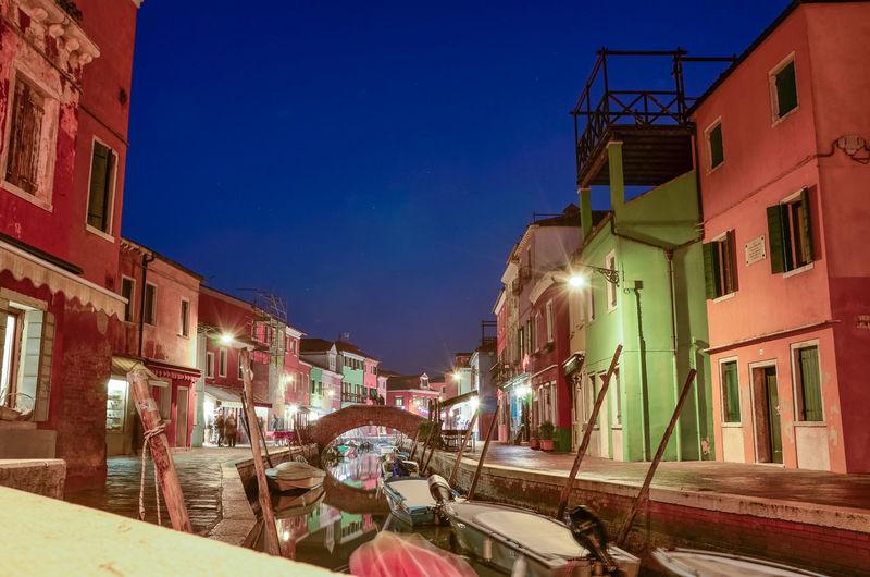 Murano at night