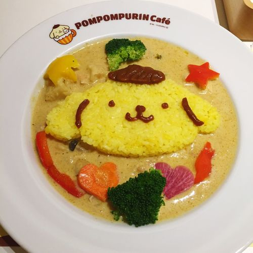 Pudding Dog Eat Curry Chicken Tom Yum Kung Taste HongKong China