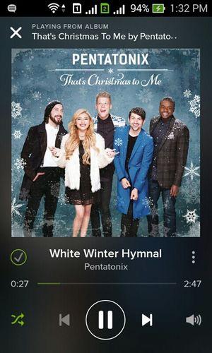Lss ako dito. Ugh. Christmas song.