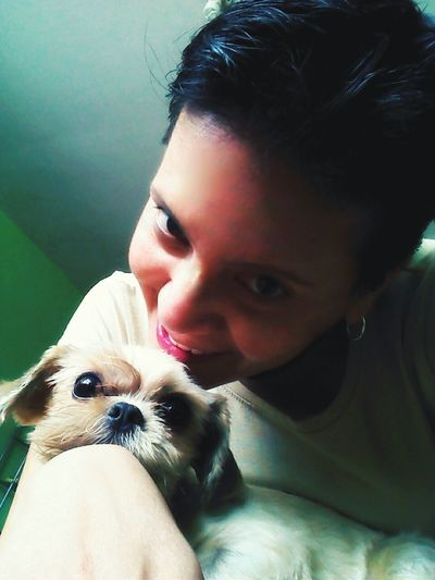 With my cuteness (Chiki) That's Me Check This Out My Dogs Are Cooler Than Your Kids Dog Lover I Love My Dog Complices Partners In Crime Better Together