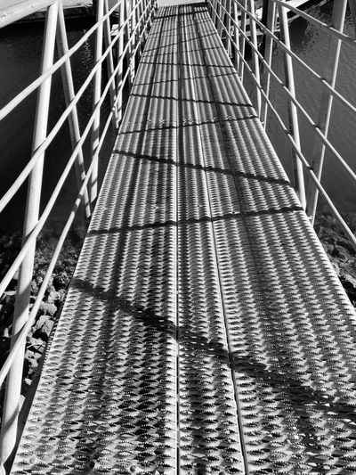 Bridges Shadow Bridge Footbridge Living The Life Light And Shadows Walking The Line