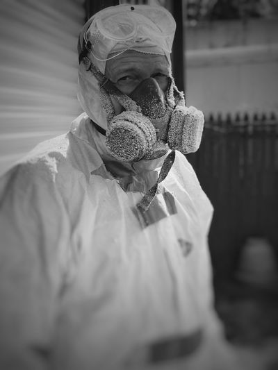 Working Blackandwhite Photography Lubbock Tx Gasmask