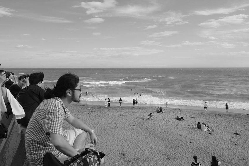 Snapshot Sea Summer Blackandwhite