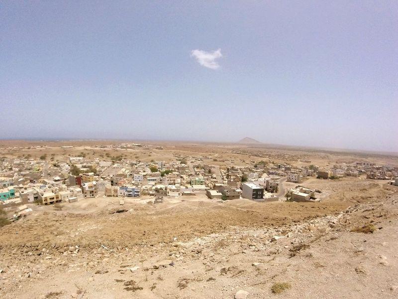 Espargos Capital City Hello World Cabo Verde Islandlife Landscapes With WhiteWall