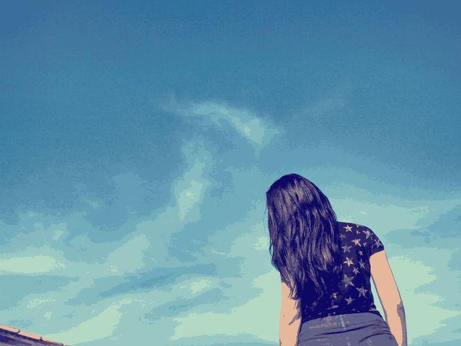 Brasilian Blue Sky Silouette & Sky Sky ceu azul <3