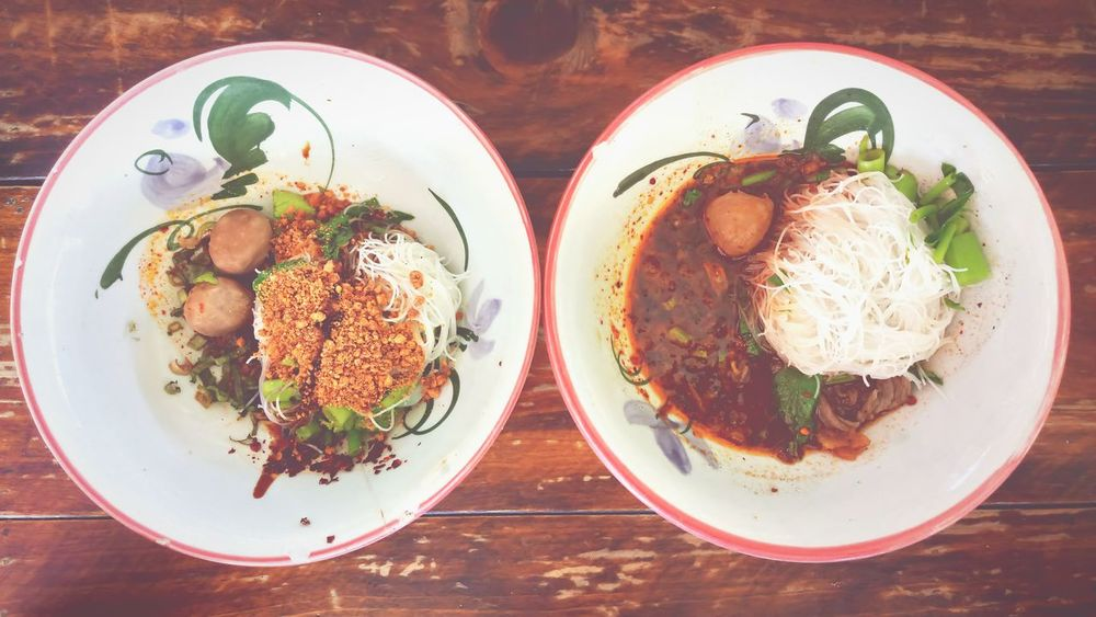 Food Thai Food Thai Noodle Style Meal Spicy Food