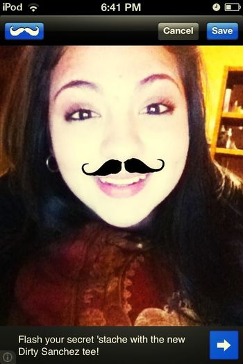 You Like My Stache.,? ;D