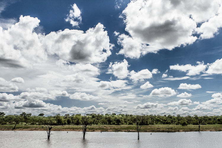 Peace and clouds. Good for the soul. Landscape_Collection Peace Africa Beauty In Nature Cloud - Sky Clouds Clouds And Sky Day Expanse Lake Landscape Nature Outdoors Scenics Sky Tranquil Scene Tranquility Tree Water