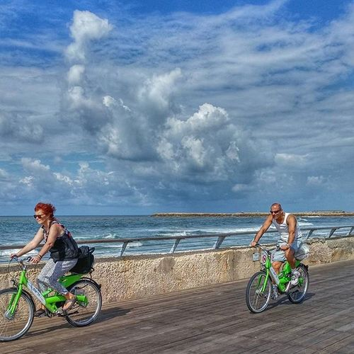 утренняя велопрогулка утро Море небо велосипед прогулка облака sea sky bicycle morning world_besthdr hdr fx_hdr lucky_hdr instagram_israel_ instagram_israel instaisrael instaphoto insta_israel world_best world_beststreet world_great world_bestsky clouds ig_street myisrael tlv