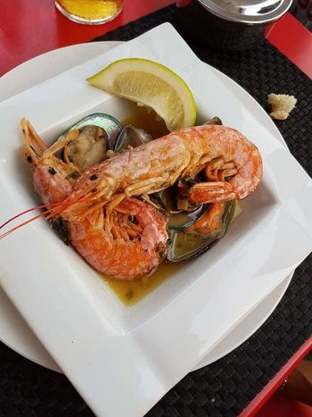Amazing Food Jamaican Tapas Ready-to-eat Family Time Mother Daughter Sharing Meal Taking Photos Food And Drink Lanzarote.