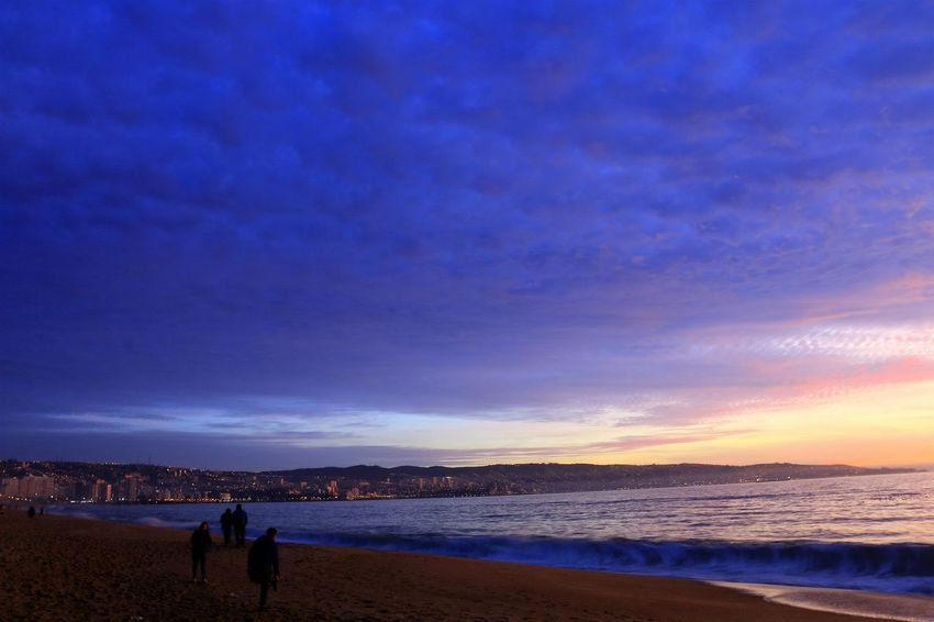 Color Palette Sunset Landscape Panoramic Photography Las Salinas Beach Photography Relaxing Nature The EyeEm Collection