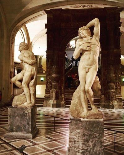 Michaelangelo Louvre Paris Art