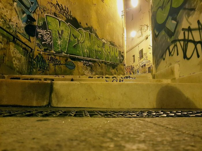 city view Graffiti Night Nightphotography Galaxys8 Sardegna Cagliari Urban City Streetphotography Low Angle View Light And Shadow City The Week On EyeEm Outdoor Photography EyeEm Ready
