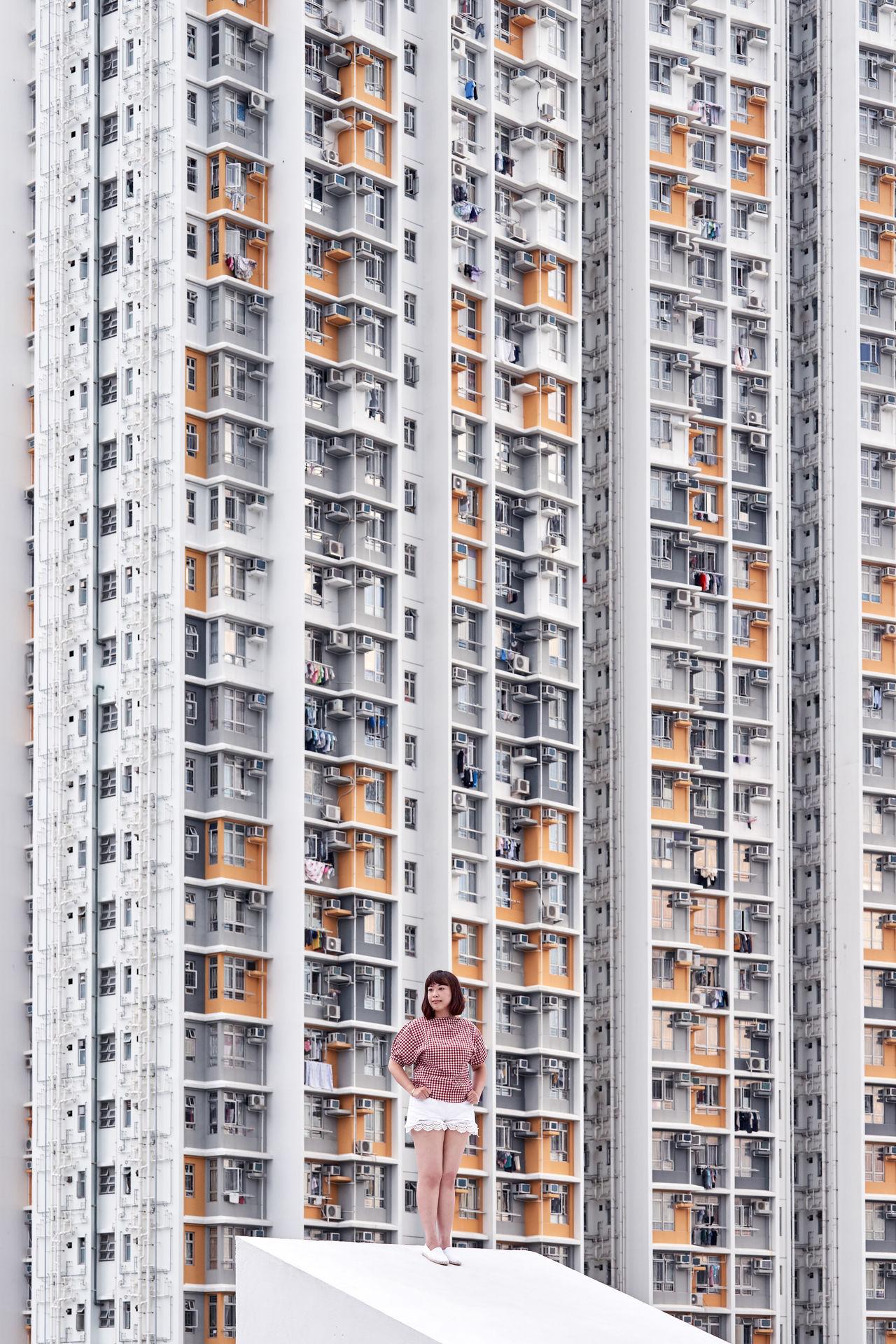 building exterior, architecture, one person, building, built structure