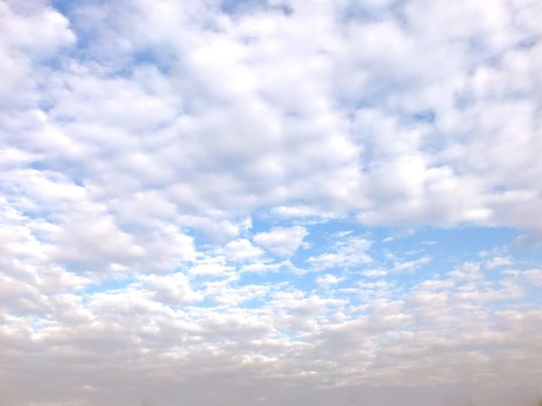 Sky Cloud - Sky Nature Beauty In Nature Low Angle View Cloudscape Backgrounds Sky Only No People Full Frame Scenics Tranquility Outdoors