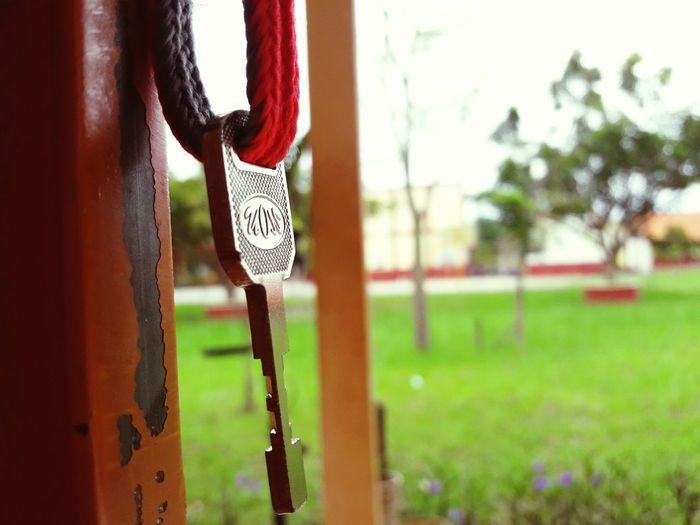 key to life Key Of Success Key Of Mind Key Of Your Heart Hanging Outdoors Close-up Lock Day No People