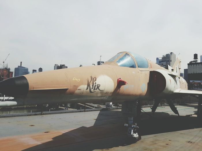 New York City New York Need For Speed Aircraft Airplane Intrepid Kfir Airforce Museum Travel Exploring New Ground Exploring New York Make Love Not War USA EyeEm Best Shots EyeEm Best Edits Solo Travel Old Times Old But Awesome New York City Photos New York Landscape My Point Of View Objects Technics Rare Finds
