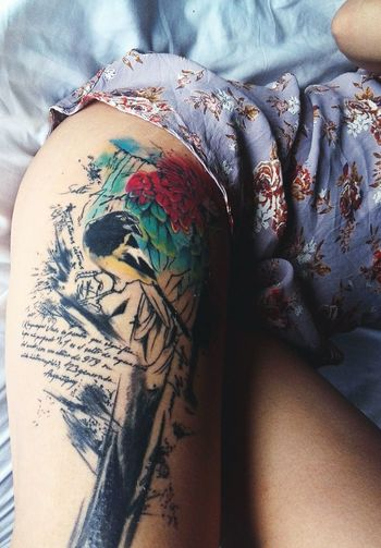 Piel Sudaca Venezuela Tattoo Tatooedgirl Multi Colored Close-up First Eyeem Photo