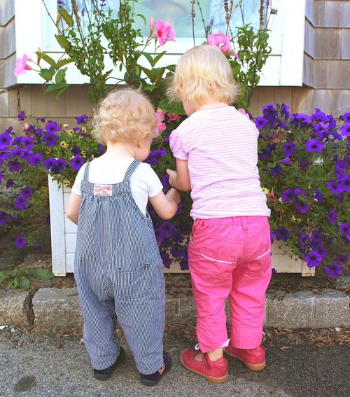 Pastel Power Girls Toddler  Toddlers  Toddlerlife Blonde Hair Blonde Flowers Flowers,Plants & Garden The Street Photographer - 2016 EyeEm Awards New England Charm New England Summer Life In New England This Is Family