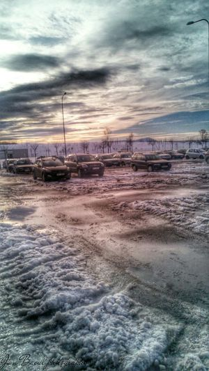 HDR Parking Beskydy Photography