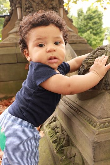 Baby Boy Biracial 6 Months Babyboy Biracial Casual Clothing Childhood Close-up Cute Happiness Home Interior Innocence Lifestyles Person Real People First Eyeem Photo