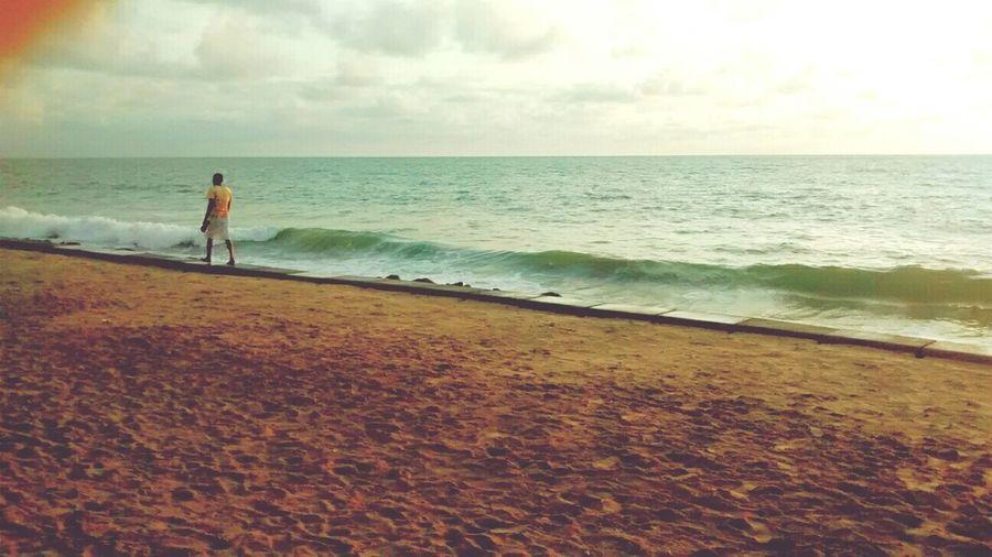 Apenas um andarilho! RecifeBeach MorningSunshine Recifecity
