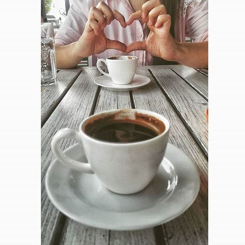 Kalpten kalbe bir yol varsa bu aşktır elbet 💞💞 Bugunnereyegitsem Bng Love Turkishcoffee coffeeholic coffeetime hdr_pics