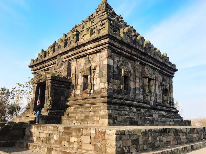 | I J O T E M P L E | VSCO Panorama Sunset Built Structure Architecture Sky Building Exterior History The Past Nature Travel Building Outdoors Religion Place Of Worship Low Angle View Belief Tourism Travel Destinations Day Ancient