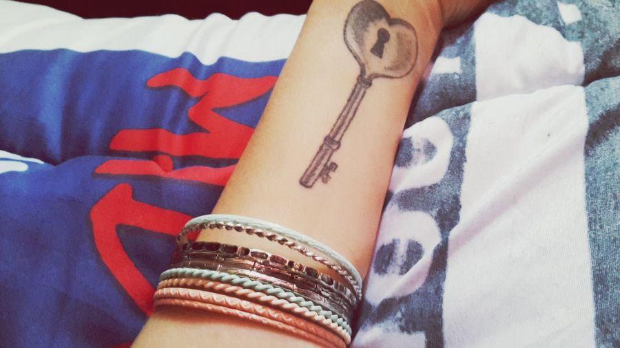 Tattooaddict  Strong Keytattoo Tattoo Tatouage Tattoomodel