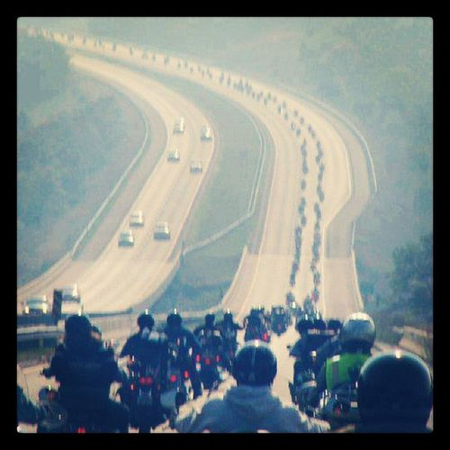 This is the longest Bikes formation I've ever seen InstaBikes Bikers InstaMotorcycles Rides InstaGood InstaMegaRide InstaMood good morning buddies