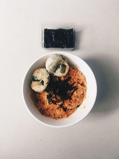 kimchi rice and