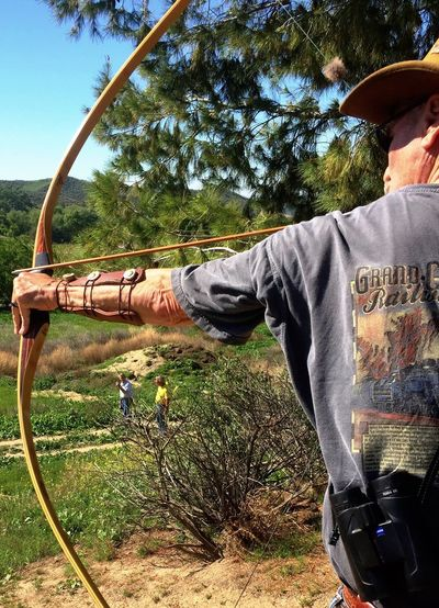 Perspective! Learn & Shoot: Balancing Elements Archer Archery Archery Range Bow And Arrow Shooting Bow And Arrow Traditional Archery Landscape Simi Valley Conejo Valley Archers