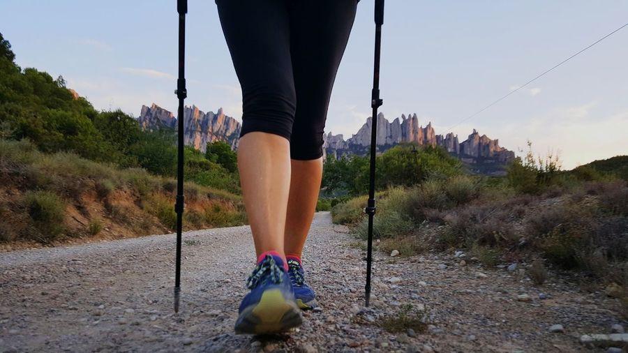 Human Leg Shoe Outdoors w Walking m Montserratlovers m Montserrat Catalunya m Mountain_collection Camiignasià Sant Ignasi De Loyola