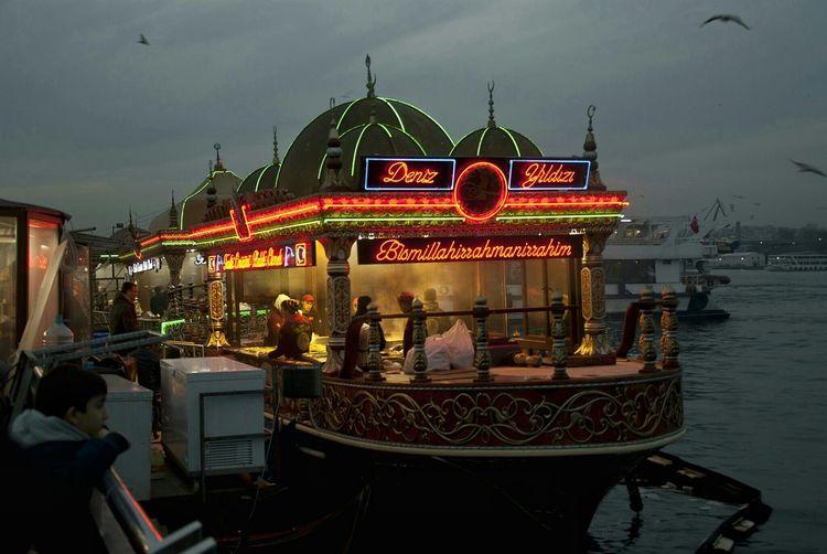 Travel Istanbul Turkey Cities Sunset Bosphoru