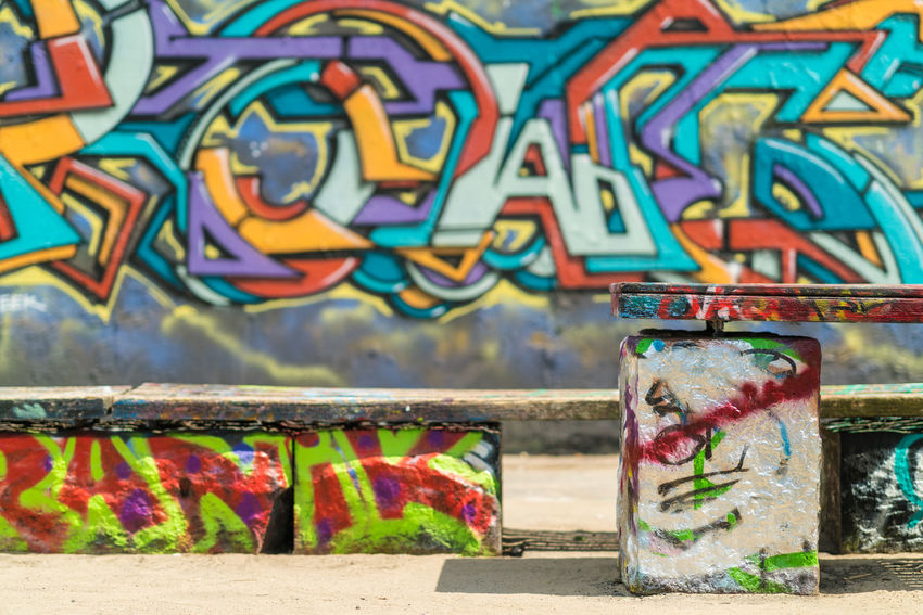 Mauerpark Bernauer Straße, Berlin Berlin Cityscape Creativity Art And Craft Built Structure Creativity Day Graffiti Multi Colored No People Outdoors Paint Painted Street Art Text Wall Wall - Building Feature