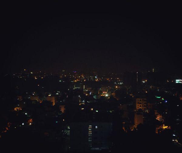 Night City Sky