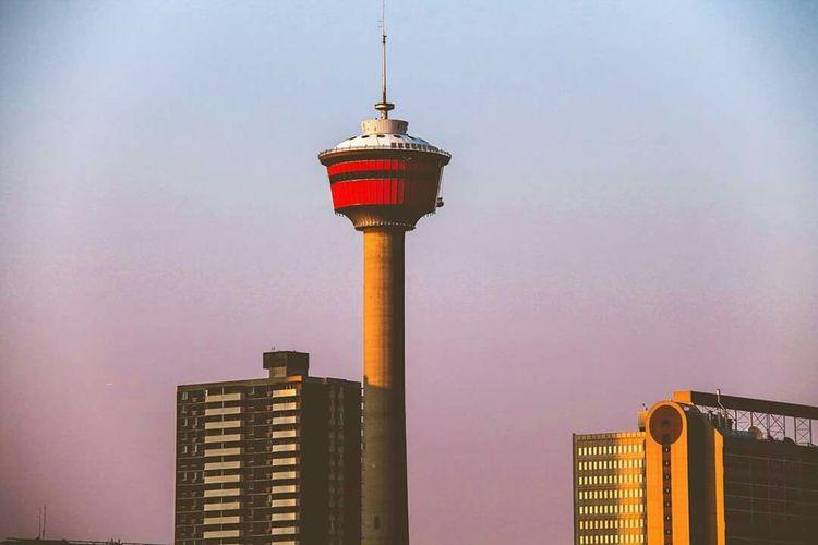 Calgary Alberta Canada Tower Summer Views