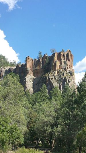 Nationalpark Battleship Trees Preservation Mountains Rock Moutains Jemez
