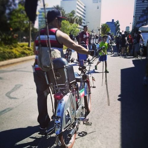 One of many that was awesome! Lol CicLAVia