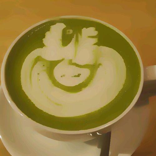 Green Tea Late LaganiCoffee &Co