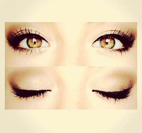???? Do you like my eyes and my eyeliner?❤️ Followme Like ? ❤ Likeforlike Likemypic