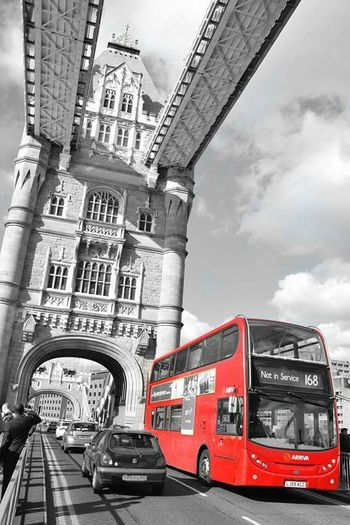 while in London Redbuses Londontowerbridge London