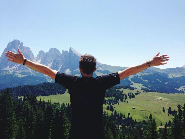 Voglio quel brivido di libertà Ortisei Montains    Holidays ☀ Enjoying Life Beautiful Place Emotion Landscape Relaxing Truelove Biagio Antonacci