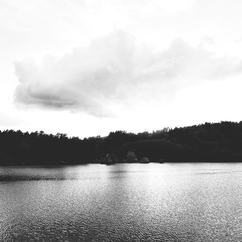 lac d'aydat, octobre 2018 Water Tree Lake Sky Cloud - Sky Landscape Storm Cloud Forked Lightning Dramatic Sky Lightning Cumulonimbus Cloudscape First Eyeem Photo EyeEmNewHere