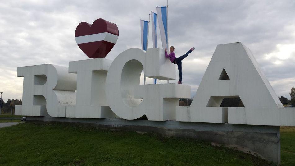 Love Sport My City Riga Latvia Its A Nice Day ☀