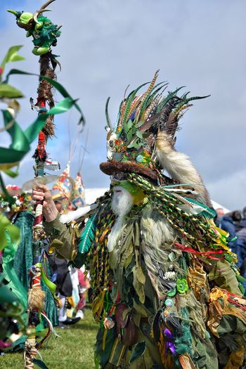 Jack In The Green Festival Green Man Festival United Kingdom May Day 2017 Hastings Festival Season Green Man Green Arts Culture And Entertainment Tradition Carnival - Celebration Event Celebration Bearded Man Giant Tall Man Pagan Only Men Spiritual Pagan Festival Paganism Festival Time Celebration East Sussex Spring Festival