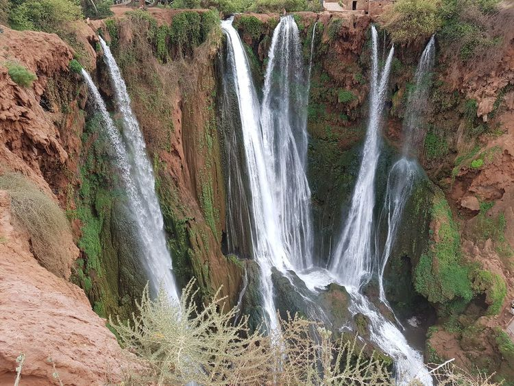 Beauty In Nature Nature Sky Outdoors No People Water Morocco Mountain Ouzoud